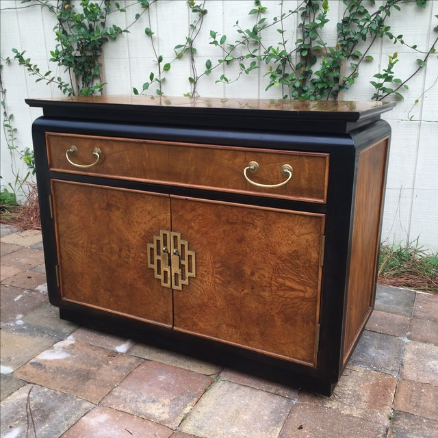 Mid-Century Modern Vintage Century Furniture Chin Hua Server Buffet For Sale - Image 3 of 11