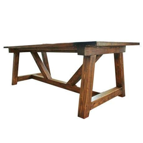 Rustic Farmhouse Dining Table - Image 1 of 5