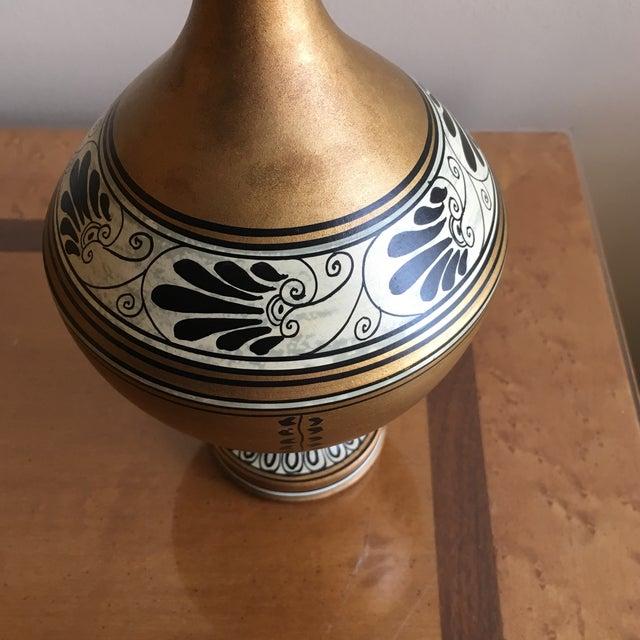 Ceramic Vintage Numbered Greek Vase Pitcher of Theseus For Sale - Image 7 of 11