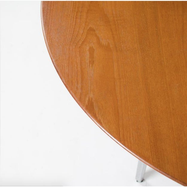Chrome 1970s Mid-Century Modern Florence Knoll Dining Table For Sale - Image 7 of 11