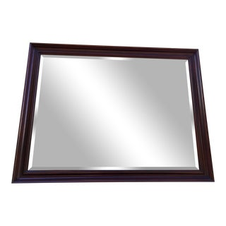 Henkel Harris Solid Mahogany Mirror For Sale