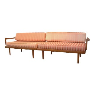 Mid-Century Modern Scandinavian Two-Piece Sofa