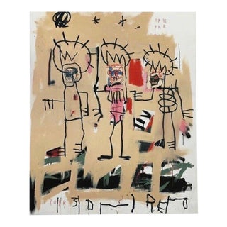 Three Kings, Giclee Print, Jean-Michel Basquiat For Sale
