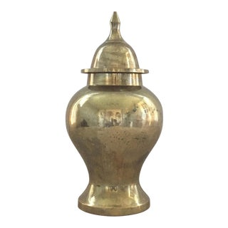 Brass Ginger Jar