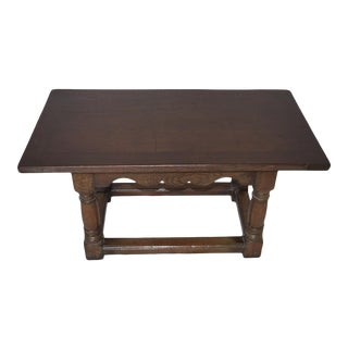 Oak Jacobean Coffee Table For Sale