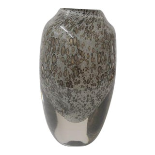 Hand Blown Glass Crystal Vase