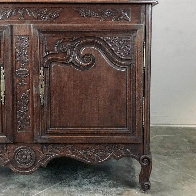 Metal 19th Century French Normandy Vaisselier ~ Buffet For Sale - Image 7 of 13