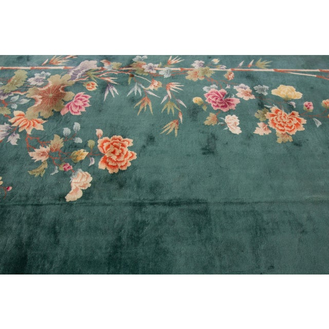 "Textile Apadana-Antique Chinese Rug, 8'9"" X 11'6"" For Sale - Image 7 of 11"