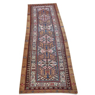 "Antique Persian Sarab Runner - 3'8"" x 12' For Sale"