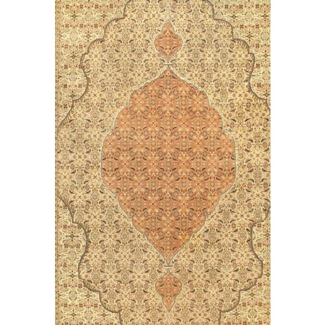Tabriz rugs are distinguished by their excellent weave and by their remarkable adherence to the classical traditions of...