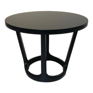 1960s Mid-Century Modern Lane Furniture Black Side Table