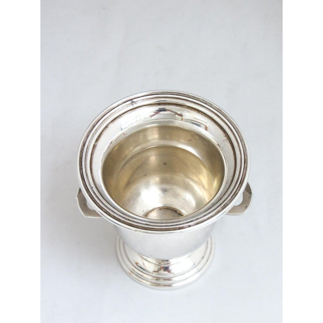 Dunkirk Silversmith Sterling Champagne Bucket Toothpick Holder For Sale - Image 4 of 7