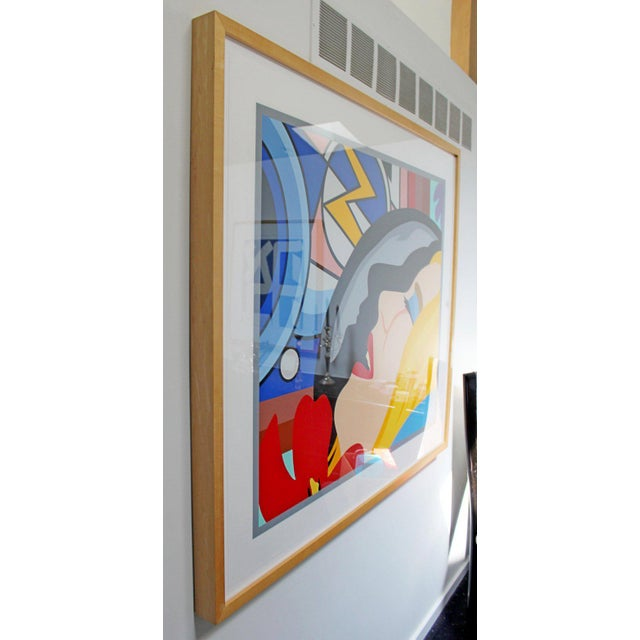 Bedroom Face With Lichtenstein Signed Tom Wesselmann Numbered 5/60 1997 For Sale - Image 4 of 8