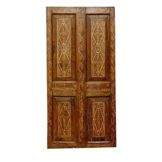 Rustic Anglo Bone Inlaid Door