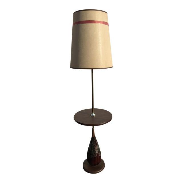 Mid century ceramic lava base floor lamp chairish mid century ceramic lava base floor lamp aloadofball Images