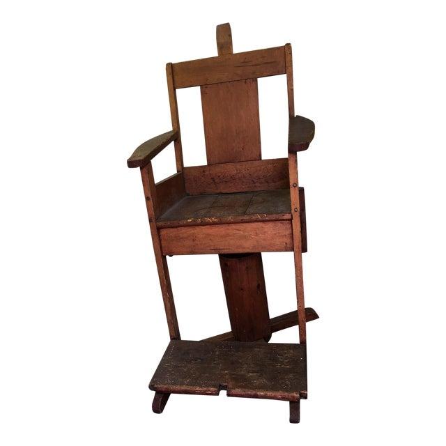 Antique Wooden Dental Chair For Sale - Antique Wooden Dental Chair Chairish