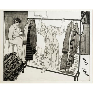 """""""The Wardrobe"""" Original Print by Jacklyn Friedman"""