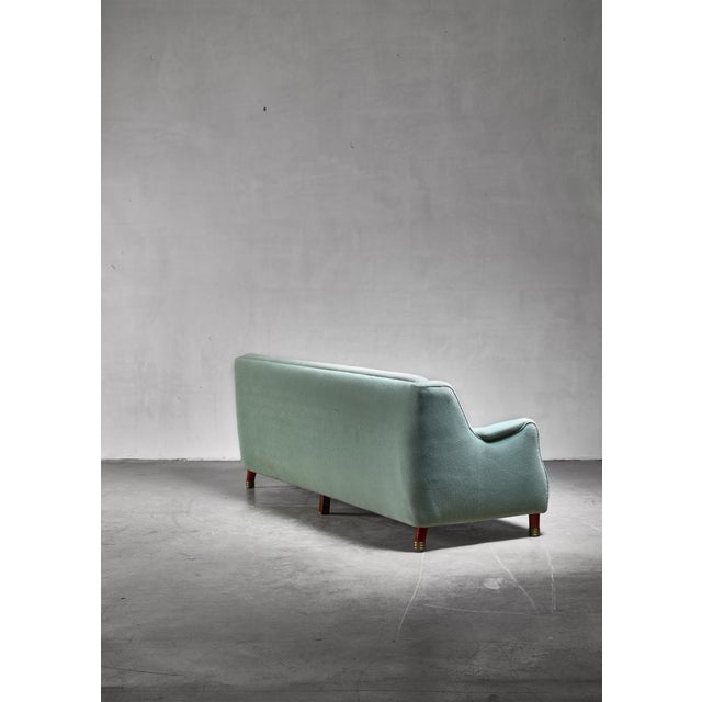 Grete Jalk Grete Jalk Four Seater Sofa for Johannes Hansen, Denmark For Sale - Image 4 of 6