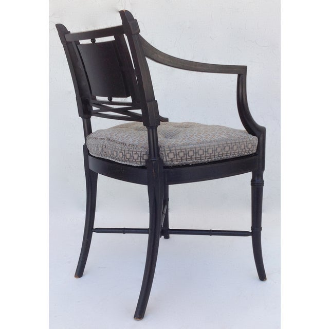 Maison Jansen Hand-Painted Regency Chair - Image 8 of 11