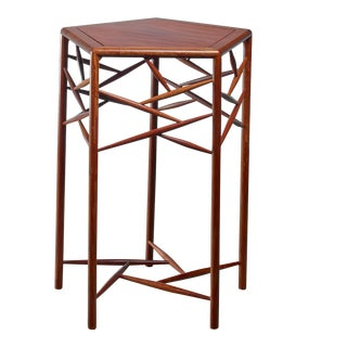 Studio Craft Wood Side Table, American, 1960s For Sale