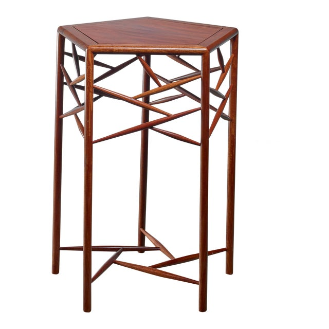 Excellent Fine Studio Craft Wood Side Table American 1960S Decaso Beatyapartments Chair Design Images Beatyapartmentscom
