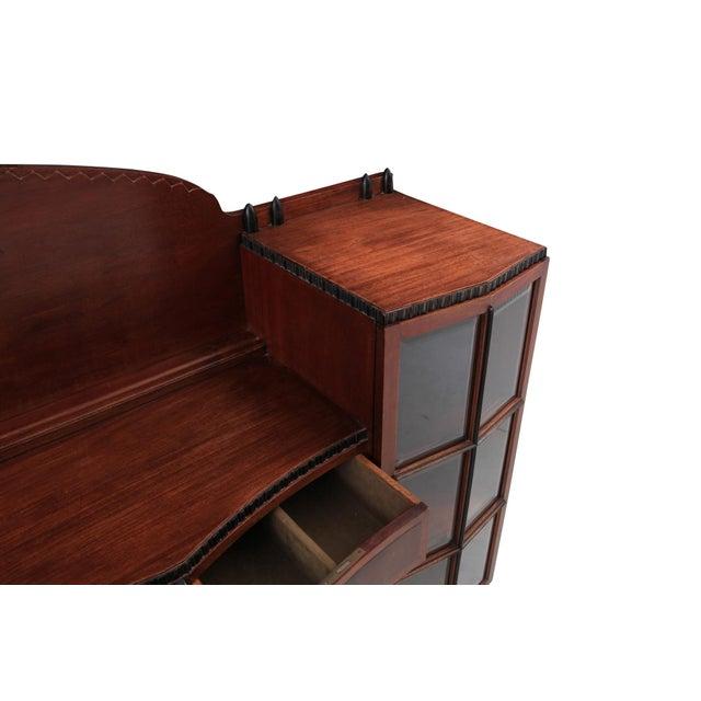 Wood Amsterdam School Mahogany Sideboard by Atelier Speelman For Sale - Image 7 of 12