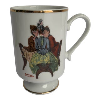 "Norman Rockwell ""The Gossips"" Cup For Sale"