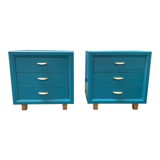 Painted MCM Vintage Nightstands by Broyhill For Sale