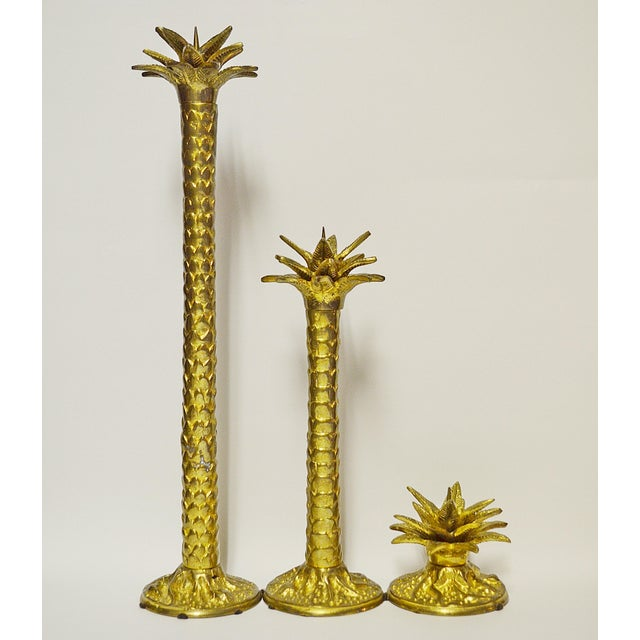 Maitland Smith Candlesticks - Set of 3 - Image 2 of 5