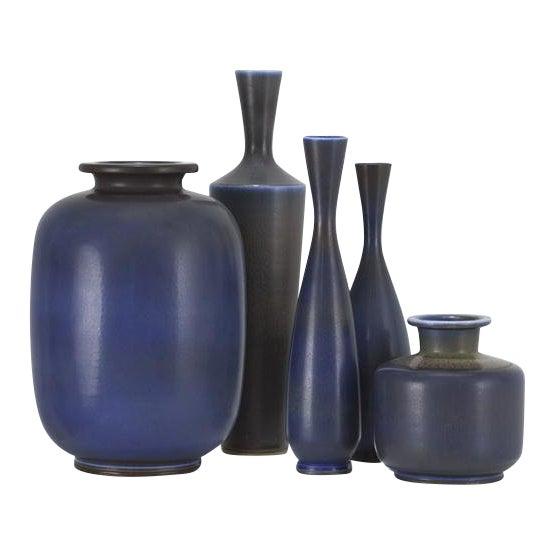 BERNDT FRIBERG Collection of vases Sweden, ca. 1955 For Sale