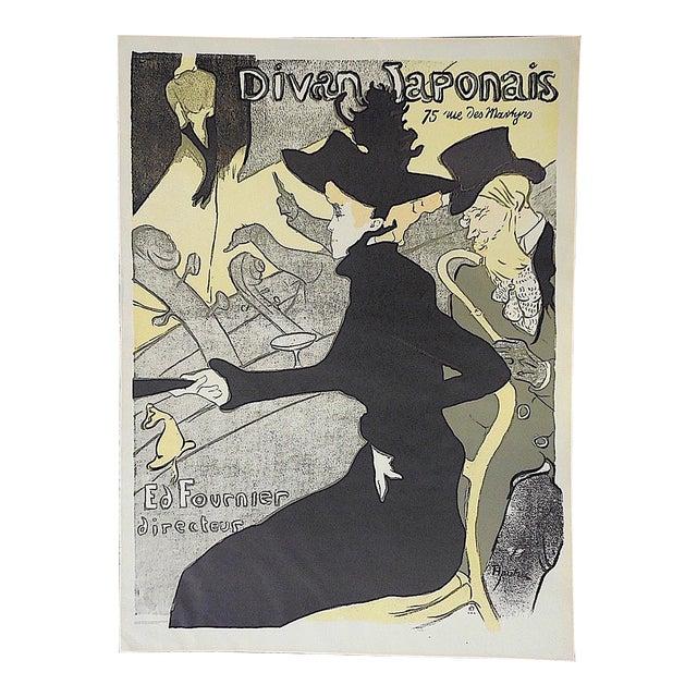 Vintage lautrec lithograph divan japonais chairish for Divan japonais toulouse lautrec