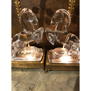Early 20th Century Crystal Stallion Girondale Table Lamps - a Pair Preview