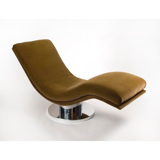Swivel Chaise Lounge by Milo Baughman For Sale In Dallas - Image 6 of 6