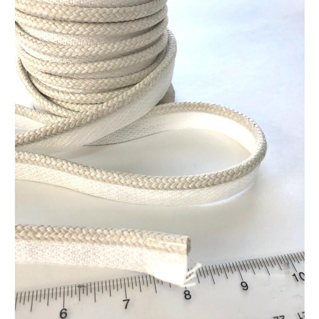 "Braided 1/4"" Indoor/Outdoor Cord Trim For Sale In New York - Image 6 of 7"