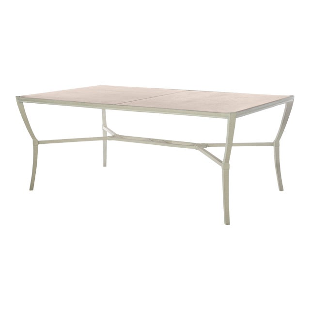 Century Furniture Andalusia Outdoor Rectangular Dining Table For Sale