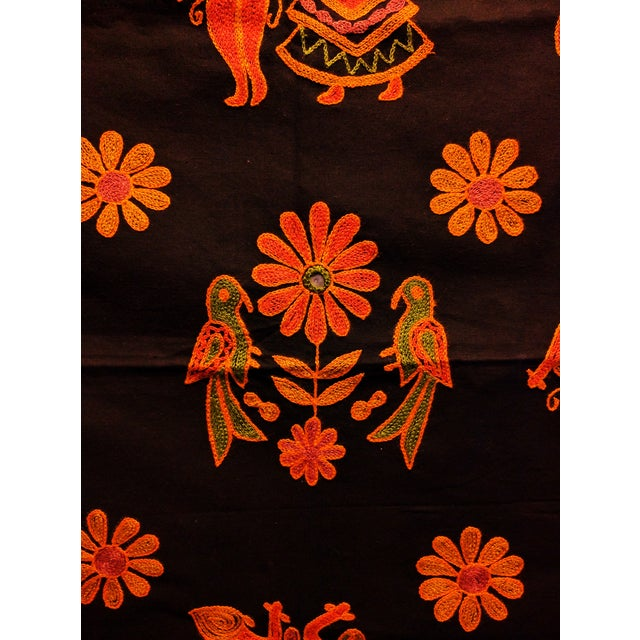 Ethnic Indian Embroidered Tapestry - Image 5 of 6
