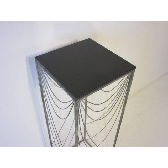 1980s Curtis Jere Sculptural Pedestal For Sale - Image 5 of 7