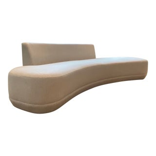 Modern Curved Sofa For Sale