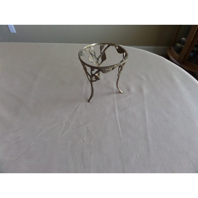Vintage Solid Brass Branch Stand - Image 2 of 6