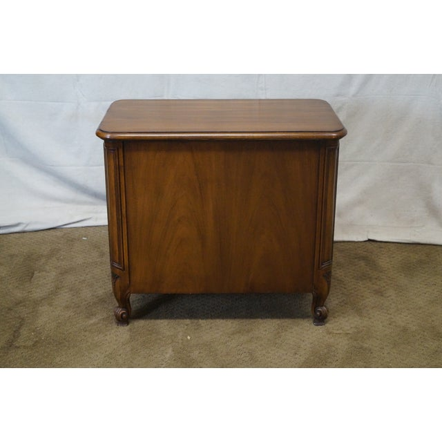 Karges Louis XV-Style Nightstand - Image 4 of 10