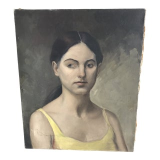 1930's American Depression Era Realism Portrait by Paul Winchell For Sale