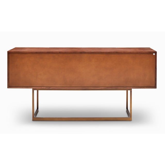 Cube Sideboard in Brown For Sale - Image 4 of 9
