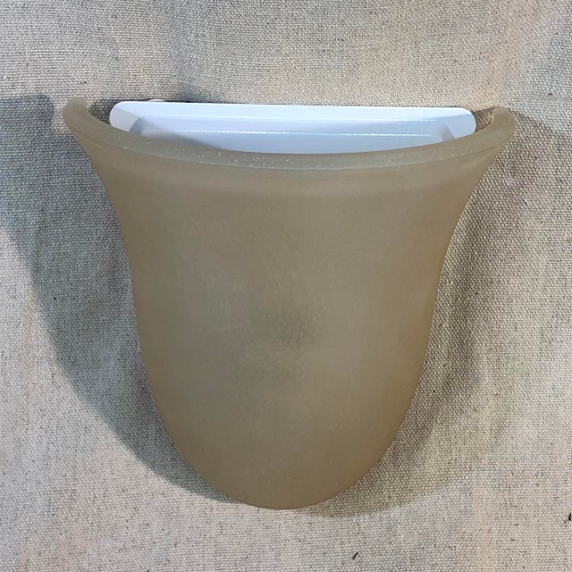 Contemporary Feiss Vista Corinthian Bronze Bath Wall Sconce For Sale - Image 3 of 8
