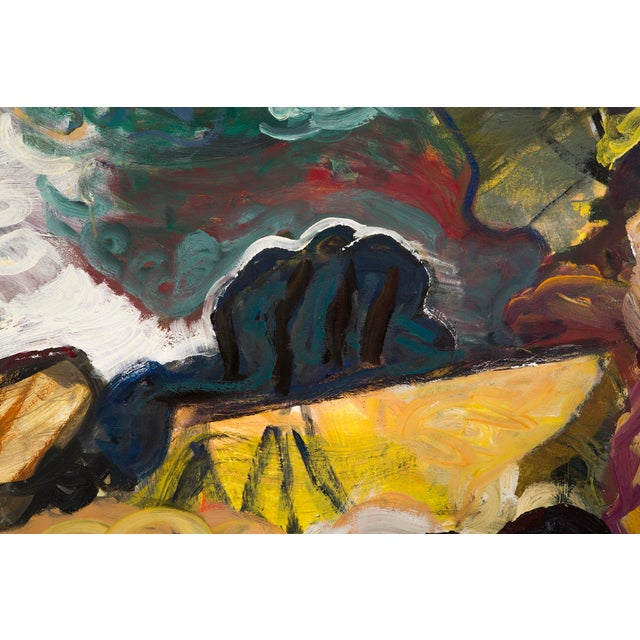 "Canvas William Eckhardt Kohler, ""Kailash"" For Sale - Image 7 of 8"