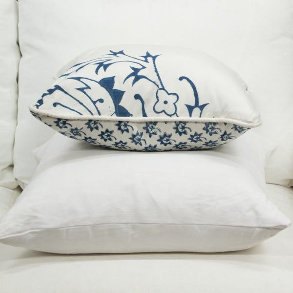 Contemporary Les Indiennes Fabric Pillow Cover For Sale - Image 3 of 5