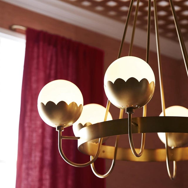 Celerie Kemble for Arteriors Cleo Chandelier For Sale - Image 11 of 12