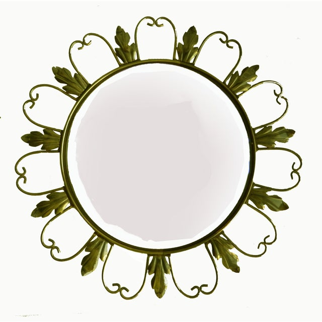Belgian Convex Mirrors from Belgium - A Pair For Sale - Image 3 of 5