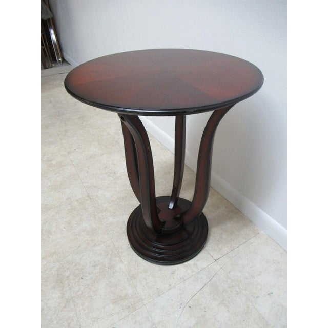 """A Bombay Company end table. Measurements ( L x W x H) 20 x 20 x 26.25"""" . Nice shape... minor wear. Please see photos as..."""