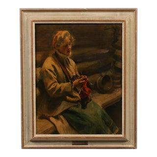 "Anders Zorn ""Kal-Margit"" Giclee For Sale"