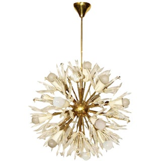 Vintage Large Emile Steijnar Chandelier, For Sale